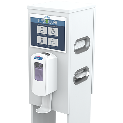 A-dec Protect and Sanitize station