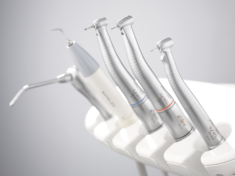 Dental Handpieces In A-dec Dental Delivery System