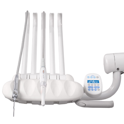 A-dec 300 dental delivery system with intraoral Sopro camera