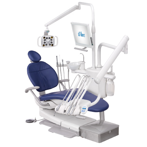 A-dec dental delivery system post mount