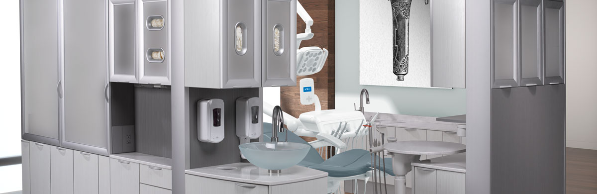 A-dec Inspire Dental Cabinets