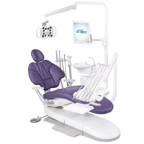 A-dec dental operatory package with A-dec 400 dental chair