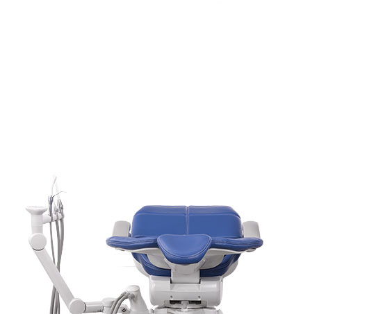 A-dec 500 Dental Chair Assistant Instrumentation