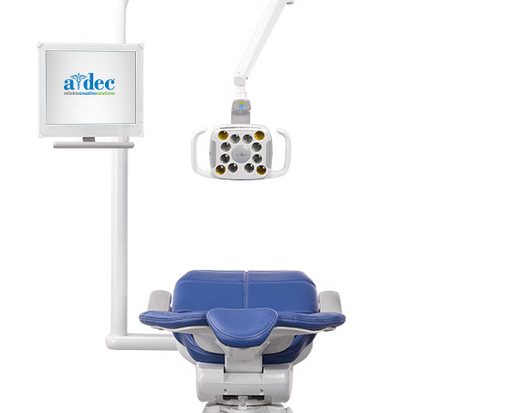 A-dec 500 Dental Chair Monitor Mount