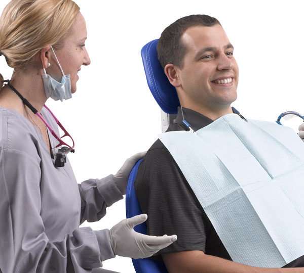A-dec 500 Dental Chair Patient In Chair
