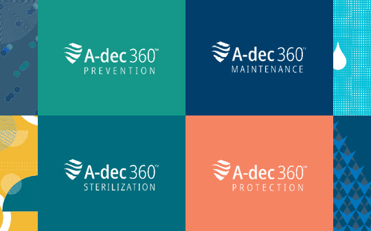 A-dec 360 dental products