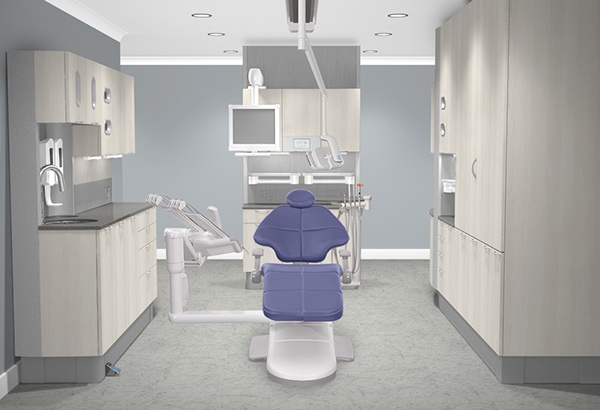 Light and classic dental operatory