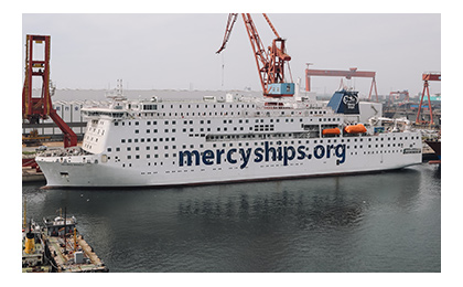 A-dec joins Mercy Ships in announcing Global Mercy