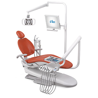 A-dec 300 dental chair system